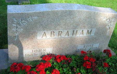 ABRAHAM, ROSE - Linn County, Iowa | ROSE ABRAHAM