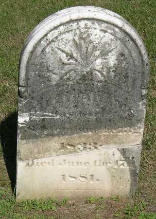 ADAMS, BILLY (?) - Linn County, Iowa | BILLY (?) ADAMS