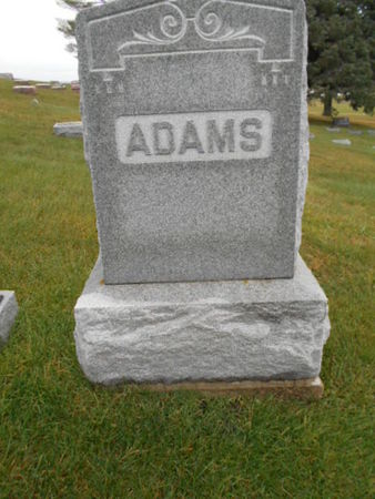 ADAMS, FAMILY STONE - Linn County, Iowa | FAMILY STONE ADAMS
