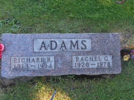 ADAMS, RICHARD R - Linn County, Iowa | RICHARD R ADAMS