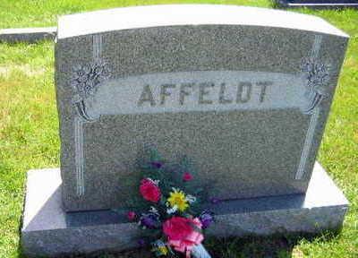 AFFELDT, FAMILY STONE   (AFFELDT PLESHEK) - Linn County, Iowa | FAMILY STONE   (AFFELDT PLESHEK) AFFELDT