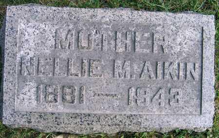 AIKIN, NELLIE M. - Linn County, Iowa | NELLIE M. AIKIN