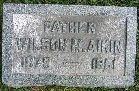 AIKIN, WILSON M. - Linn County, Iowa | WILSON M. AIKIN