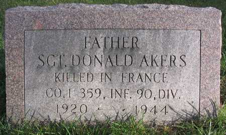 AKERS, DONALD, SGT. - Linn County, Iowa | DONALD, SGT. AKERS