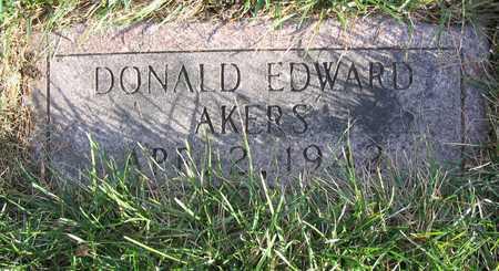 AKERS, DONALD EDWARD - Linn County, Iowa | DONALD EDWARD AKERS