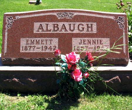 ALBAUGH, JENNIE - Linn County, Iowa | JENNIE ALBAUGH