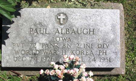 ALBAUGH, PAUL - Linn County, Iowa | PAUL ALBAUGH