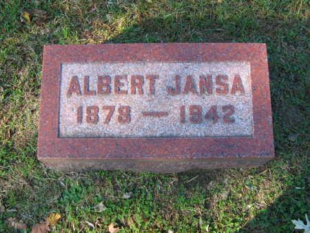 JANSA, ALBERT - Linn County, Iowa | ALBERT JANSA