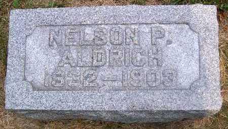 ALDRICH, NELSON P. - Linn County, Iowa | NELSON P. ALDRICH