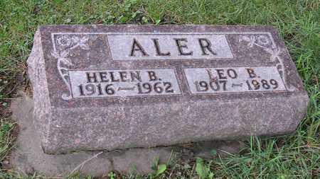 ALER, HELEN B. - Linn County, Iowa | HELEN B. ALER