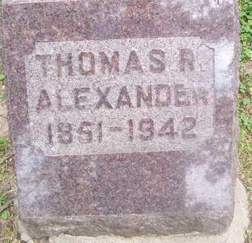 ALEXANDER, THOMAS R. - Linn County, Iowa | THOMAS R. ALEXANDER