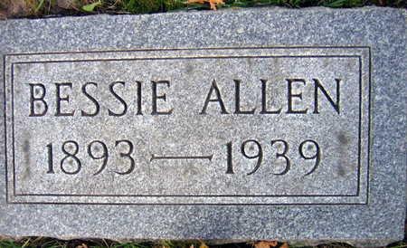 ALLEN, BESSIE - Linn County, Iowa | BESSIE ALLEN
