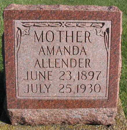 ALLENDER, AMANDA - Linn County, Iowa | AMANDA ALLENDER