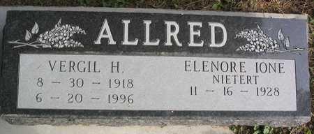 ALLRED, VERGIL H. - Linn County, Iowa   VERGIL H. ALLRED