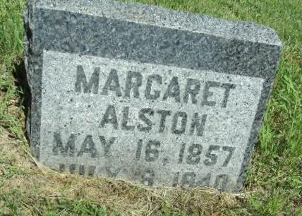 ALSTON, MARGARET - Linn County, Iowa | MARGARET ALSTON