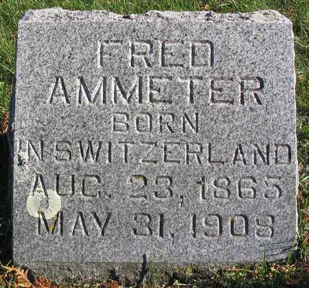 AMMETER, FRED - Linn County, Iowa | FRED AMMETER