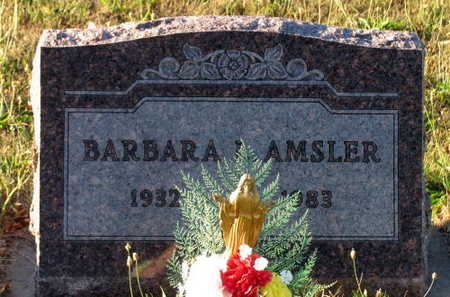 AMSLER, BARBARA L. - Linn County, Iowa   BARBARA L. AMSLER