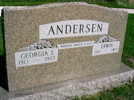 ANDERSEN, ERWIN - Linn County, Iowa | ERWIN ANDERSEN