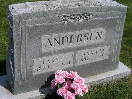 ANDERSEN, ANNA M. - Linn County, Iowa | ANNA M. ANDERSEN