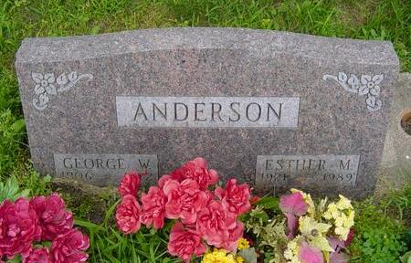 ANDERSON, ESTHER - Linn County, Iowa | ESTHER ANDERSON