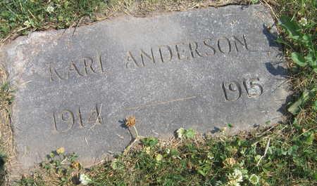 ANDERSON, KARL - Linn County, Iowa | KARL ANDERSON