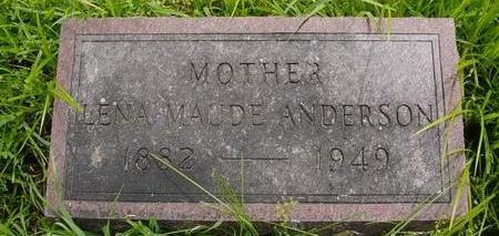 RUNDALL ANDERSON, LENA MAUDE - Linn County, Iowa | LENA MAUDE RUNDALL ANDERSON