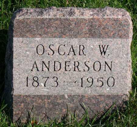 ANDERSON, OSCAR W. - Linn County, Iowa | OSCAR W. ANDERSON