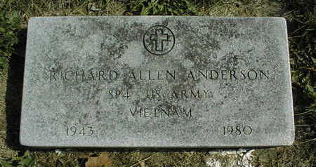 ANDERSON, RICHARD ALLEN - Linn County, Iowa   RICHARD ALLEN ANDERSON