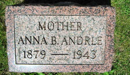 ANDRLE, ANNA B. - Linn County, Iowa | ANNA B. ANDRLE