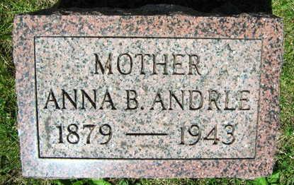 ANDRLE, ANNA B. - Linn County, Iowa   ANNA B. ANDRLE