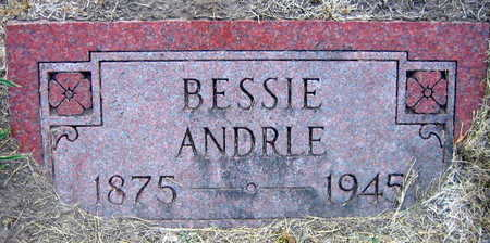 ANDRLE, BESSIE - Linn County, Iowa | BESSIE ANDRLE