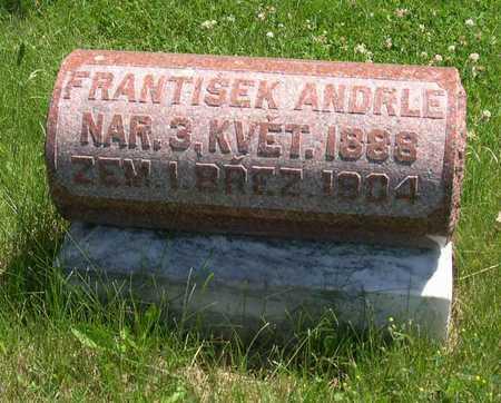 ANDRLE, FRANTISEK - Linn County, Iowa | FRANTISEK ANDRLE