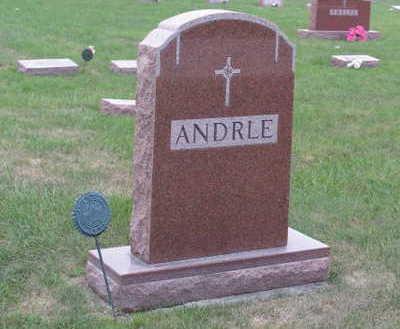 ANDRLE, FAMILY STONE - Linn County, Iowa | FAMILY STONE ANDRLE