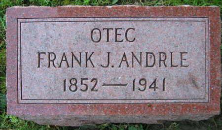 ANDRLE, FRANK J. - Linn County, Iowa   FRANK J. ANDRLE