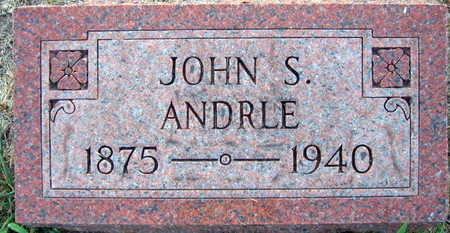 ANDRLE, JOHN S. - Linn County, Iowa | JOHN S. ANDRLE