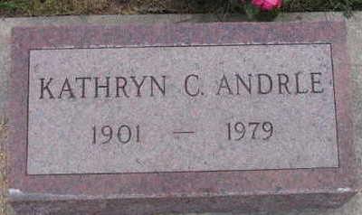 ANDRLE, KATHRYN C. - Linn County, Iowa | KATHRYN C. ANDRLE