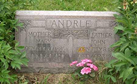 ANDRLE, MARY - Linn County, Iowa | MARY ANDRLE