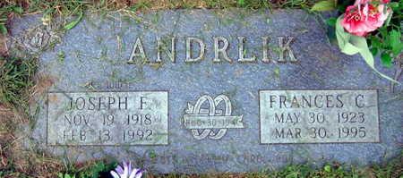 ANDRLIK, FRANCES C. - Linn County, Iowa | FRANCES C. ANDRLIK