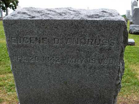 ANDRUSS, EUGENE D. - Linn County, Iowa   EUGENE D. ANDRUSS