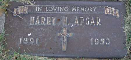 APGAR, HARRY H - Linn County, Iowa | HARRY H APGAR