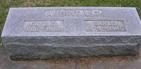 ARBINGCAST, EARLE - Linn County, Iowa | EARLE ARBINGCAST