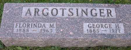 ARGOTSINGER, FLORINDA M. - Linn County, Iowa | FLORINDA M. ARGOTSINGER