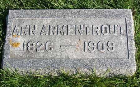 ARMENTROUT, ANN - Linn County, Iowa | ANN ARMENTROUT