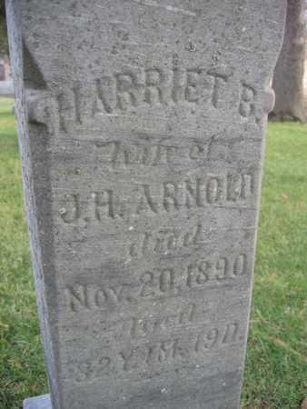 ARNOLD, HARRIET B. - Linn County, Iowa | HARRIET B. ARNOLD