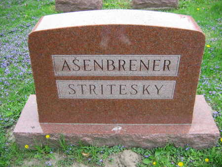 ASENBRENER STRITESKY, FAMILY - Linn County, Iowa | FAMILY ASENBRENER STRITESKY