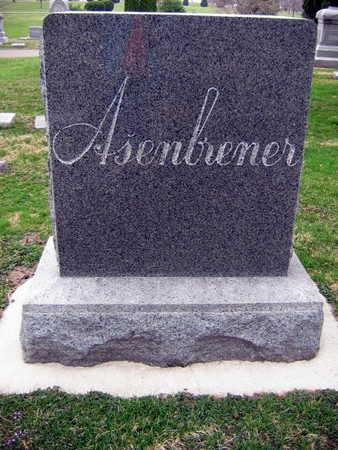 ASENBRENER, FAMILY STONE - Linn County, Iowa | FAMILY STONE ASENBRENER