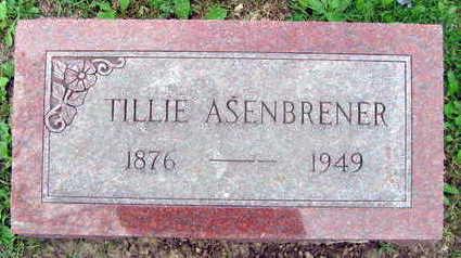 ASENBRENER, TILLIE - Linn County, Iowa | TILLIE ASENBRENER