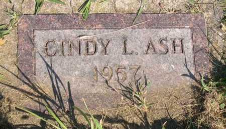 ASH, CINDY L. - Linn County, Iowa | CINDY L. ASH