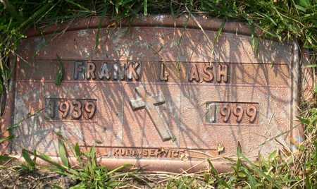 ASH, FRANK L. - Linn County, Iowa | FRANK L. ASH
