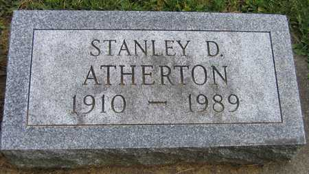 ATHERTON, STANLEY D. - Linn County, Iowa   STANLEY D. ATHERTON